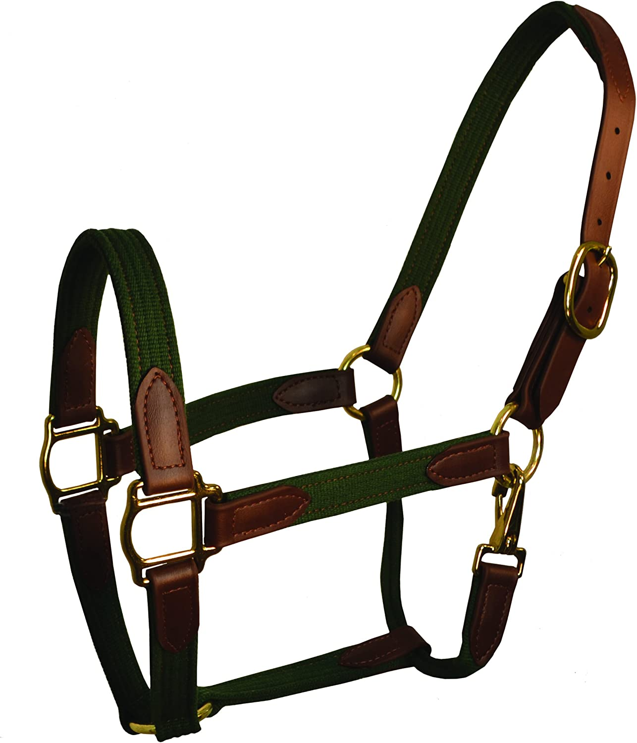 Cob Perris Leather Hunter Beta and Cotton Safety Halter Brown