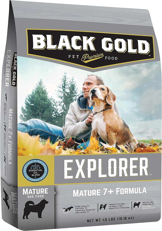 Black Gold Explorer Mature 7+ Recipe Dry Dog Food