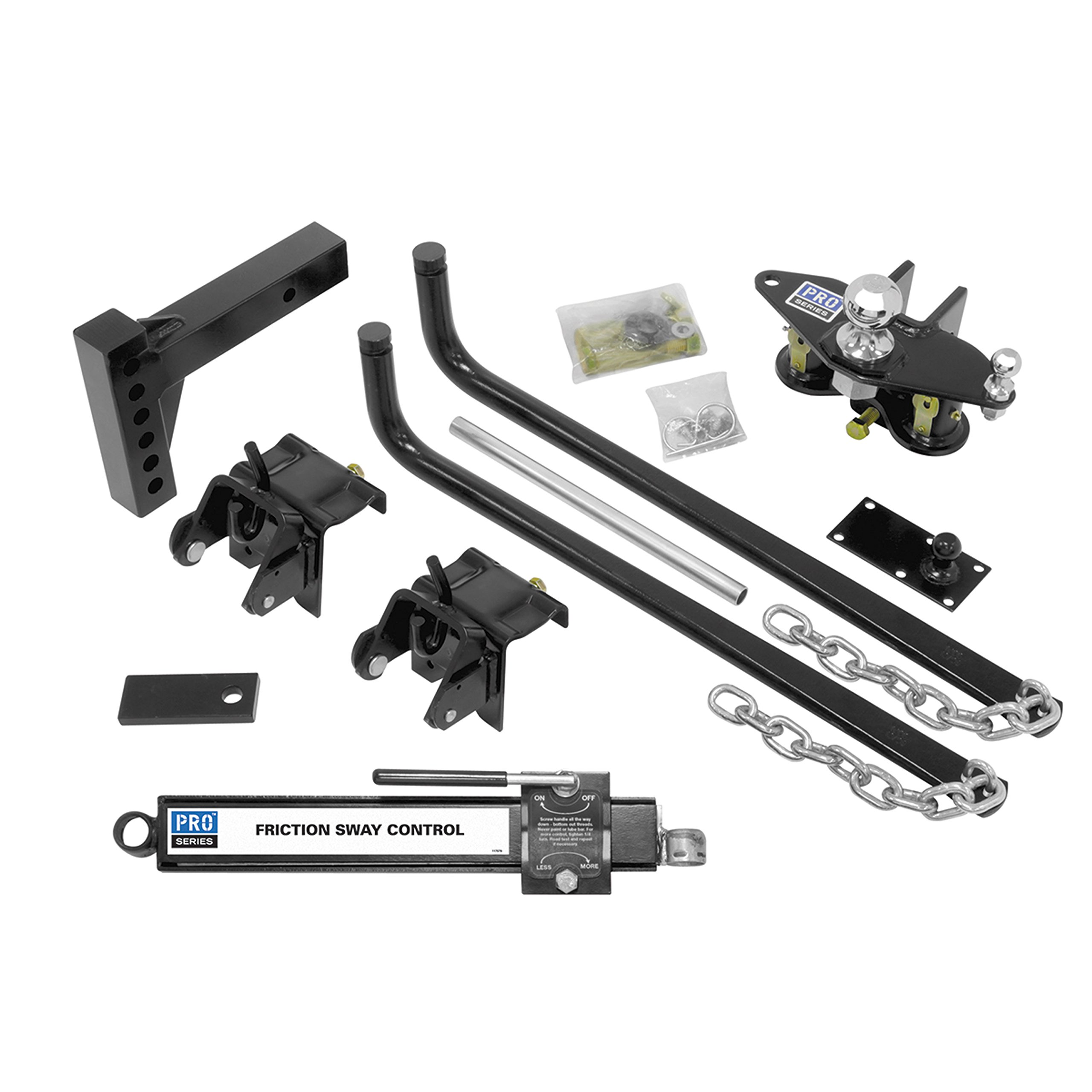 Pro Series Reese 49902 Complete Round Bar Weight Distribution Kit - 750 lbs. TW by Pro Series