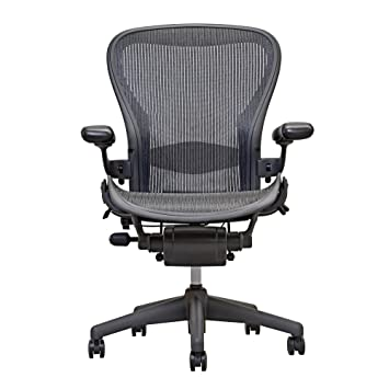 Amazon.com: Herman Miller Aeron Chair -Open Box -Size B Fully ...