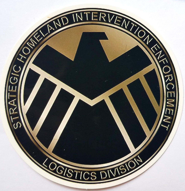 Amazon.com: Marvel - Agents of SHIELD - Vinyl Sticker: Everything Else