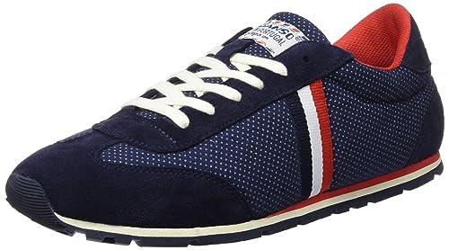 El Ganso Zapatilla Running Tejido Marino Topos Cinta - Zapatillas para Hombre, Color Azul, Talla 36: Amazon.es: Zapatos y complementos