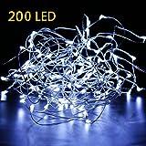 Brightown Starry String LED Lights, 35-Feet, 200 LEDs, Pure White