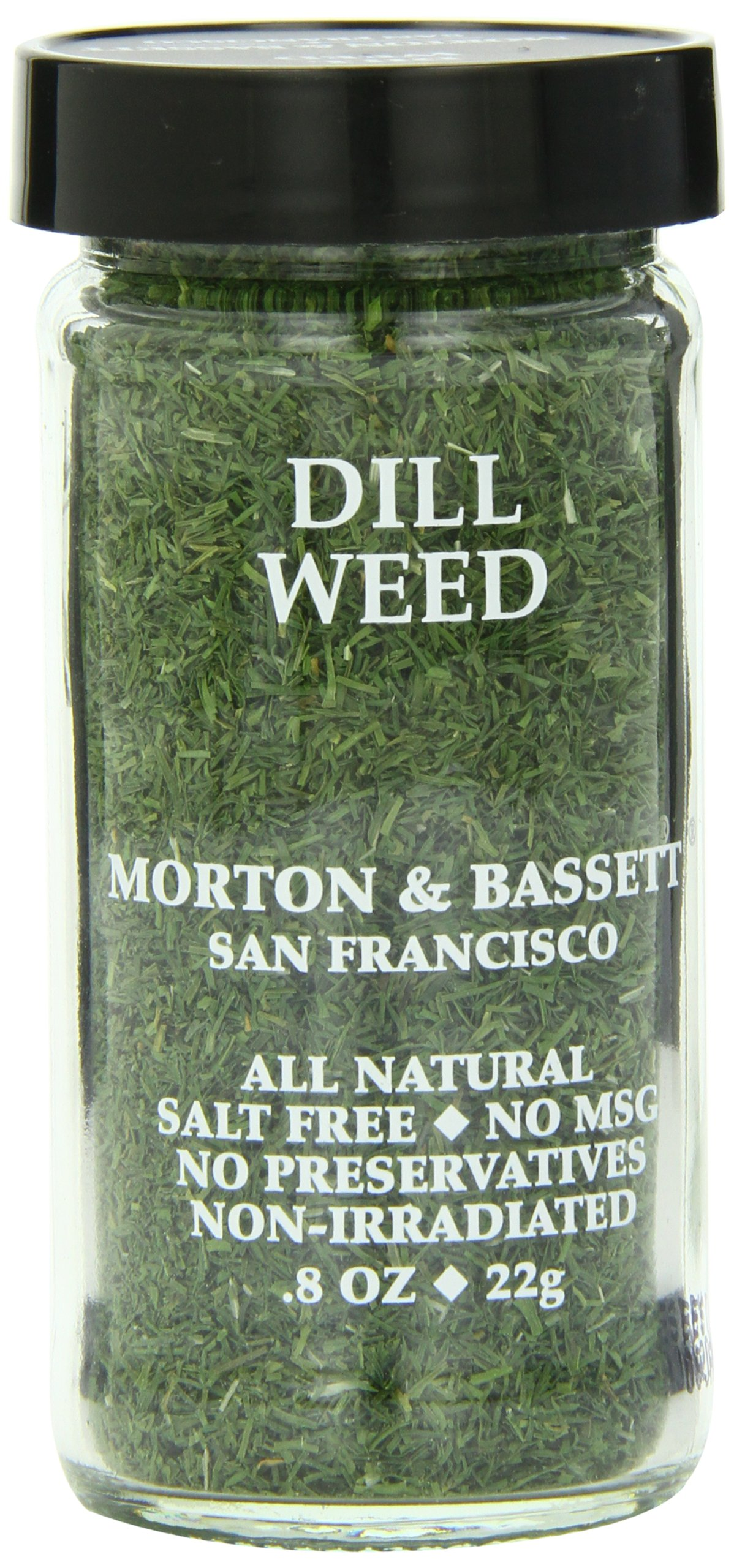 Morton & Basset Spices, Dill Weed, 0.8 Ounce (Pack of 3)