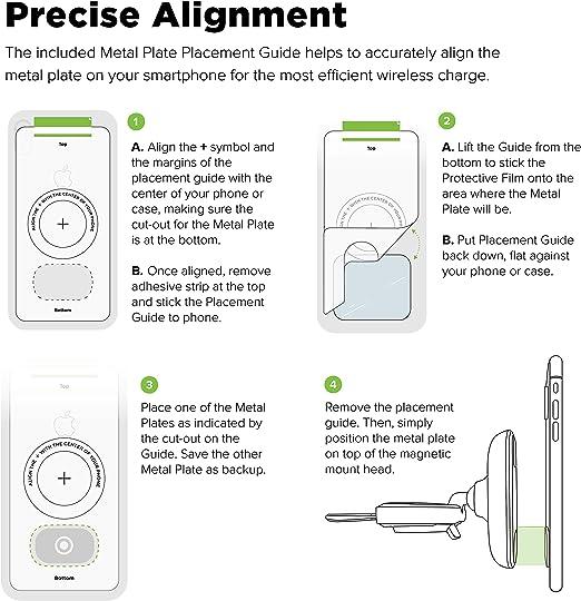 Iottie Itap 2 Wireless Magneticqi Wireless Cd Steckplatzhalterung Für Iphone Xs Max R 8 Plus 10 W Für Samsung Galaxy S10 E S9 S8 Plus Edge Hinweis 9 Auto