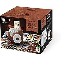 Fujifilm 70100138933 Pack Découverte Instax Mini 9 avec Film Instax Mini 10 Vues Blanc/Rose/Bleu