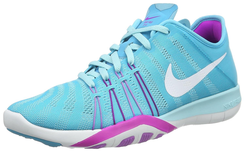 Womens Nike Free TR 6 Training Shoes B014GMXE46 6.5 B(M) US|Gamma Blue/Hyper Violet/Fuchsia Glow/White