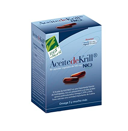 100% natural Aceite de Krill - 90 Cápsulas