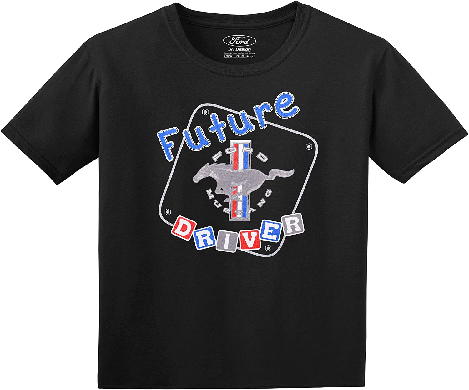 Ford GT American Horse Power Youth T-shirt Sports Race Car Licensed Kids