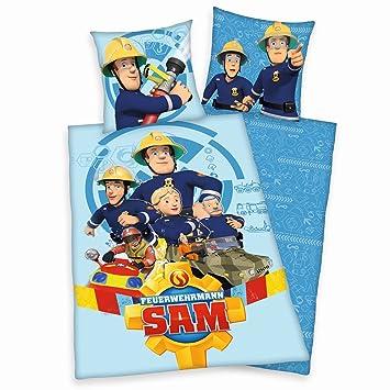 Familando Bettwäsche Feuerwehrmann Sam 135 X 200 Cm 80 X 80 Cm 100