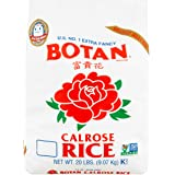Botan Calrose Rice, 20 lb U.S. No. 1 Extra Fancy