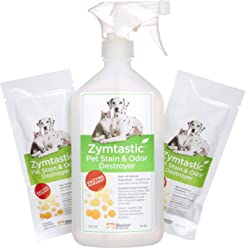 NEATER PET BRANDS Zymtastic - 32 Oz Enzyme Based Pet Stain & Odor Remover - Removes Urine, Feces, Food or Any Organic Matter from Carpet, Hard Surfaces and Clothing