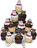 Amazon Com Wilton 4 Tier Stacked Cupcake And Dessert