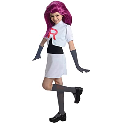 Rubies Pokemon Team Rocket Jessie Costume, Medium: Toys & Games