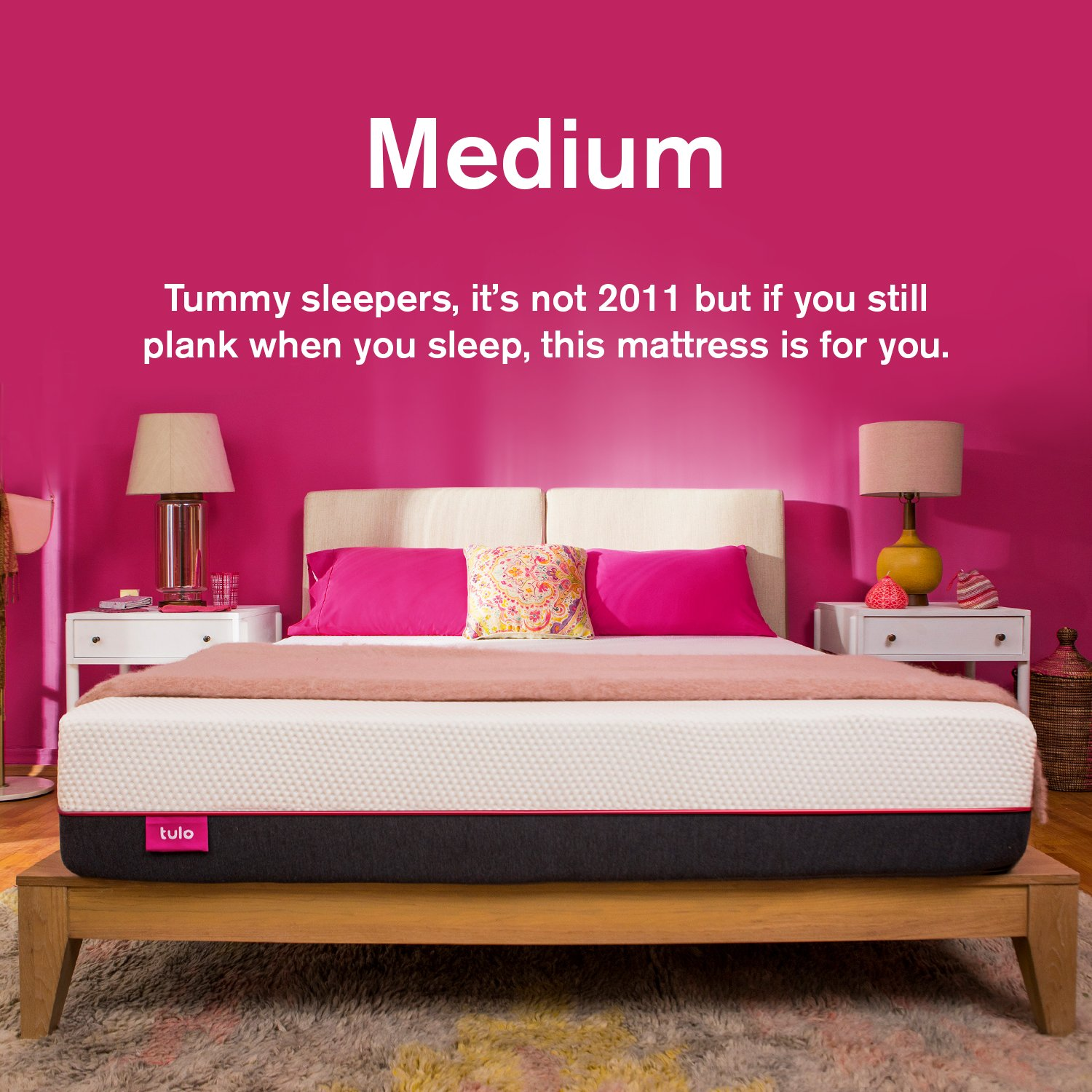 Amazon.com: Mattress by tulo, Pick your Comfort Level, Medium Queen Size 10