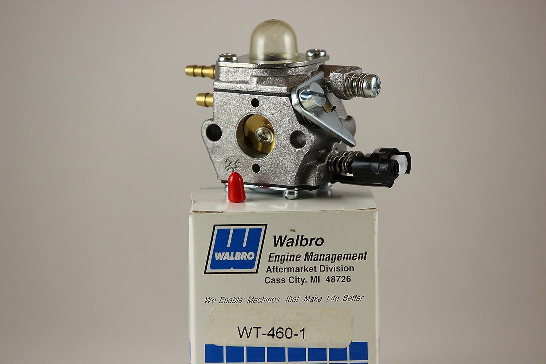 Carburador Original Walbro WT-460-1 para desmalezadora EMAK maquina 8350 No. Parte 231-8690: Amazon.es: Jardín