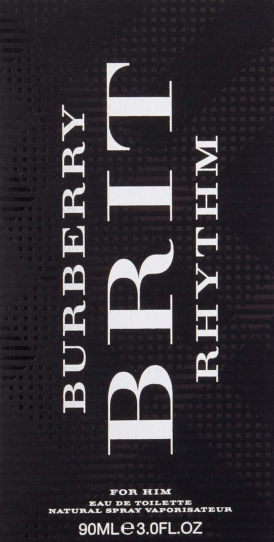 38de3bd16 Burberry Burberry Brit Rhythm by Burberry for Men - 3 oz EDT Spray:  Amazon.ae