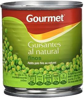 Gourmet Finos Guisantes al Natural - Pack de 3 x 200 g - Total: 600