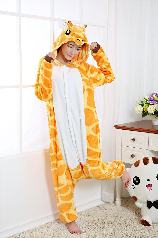 Kenmont Unicornio Juguetes y Juegos Animal Ropa de Dormir Cosplay Disfraces Pijamas para Adulto Niños (Small, Giraffe): Amazon.es: Juguetes y juegos