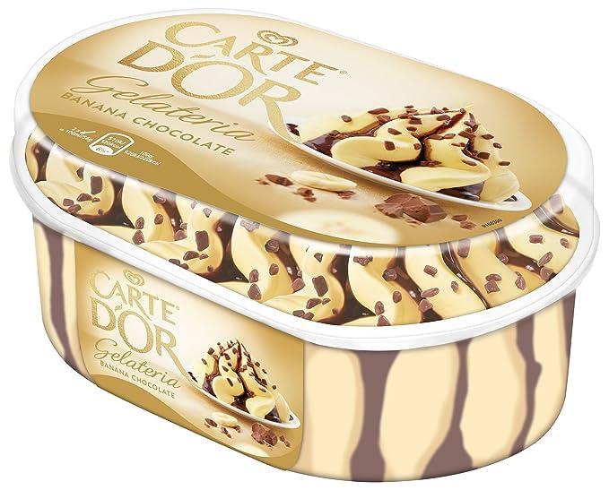 Carte DOr - Helado con sabor de banana y chocolate, ...