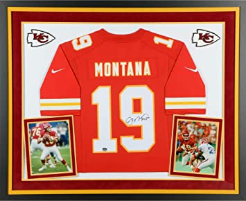 74187ad05f8 Joe Montana Kansas City Chiefs Deluxe Framed Autographed Nike Limited Jersey  - Fanatics Authentic Certified