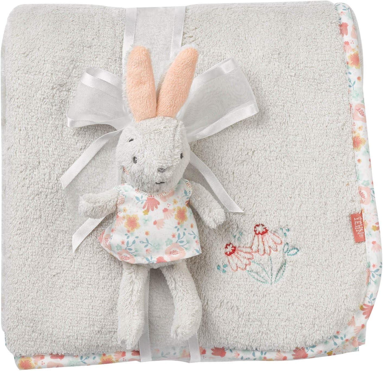 a partir de 0 meses Manta para beb/é multicolor Fehn 062359 dise/ño de conejo