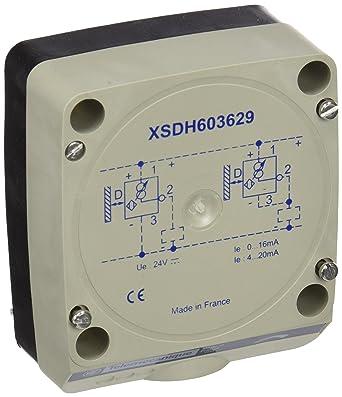 Telemecanique psn - det 32 08 - Detector proximidad 3 hilos 19-30vcc 6-