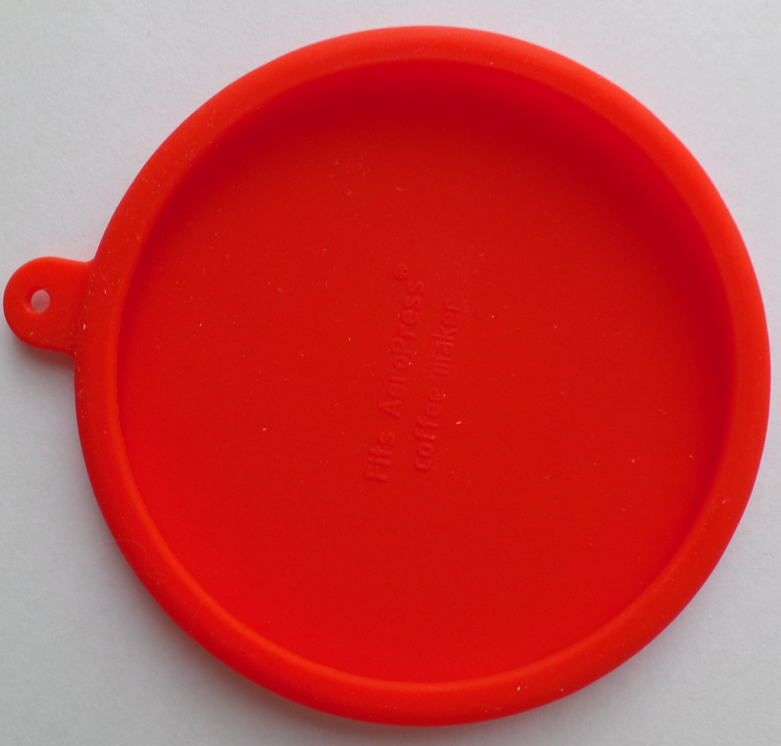 The Handy House Travel Cap for AeroPress Coffee Maker, Red by The Handy House (Image #3)