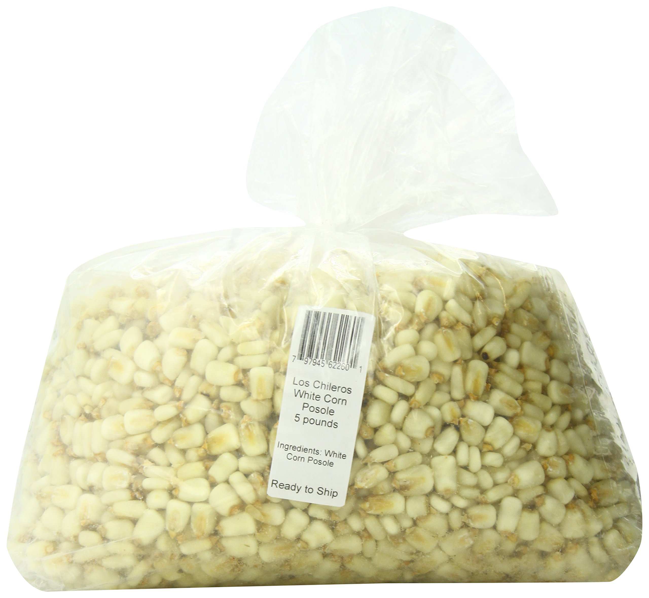 Los Chileros White Corn Posole, 5 Pound
