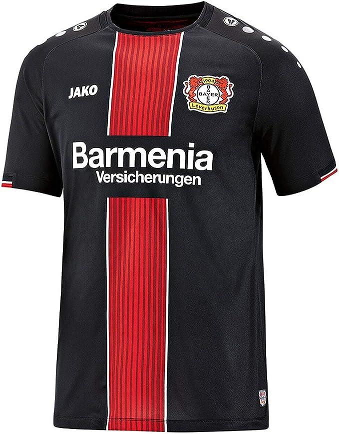JAKO Bayer 04 Leverkusen Heim 2018/2019 Camiseta de Equipo. Unisex niños: Amazon.es: Deportes y aire libre