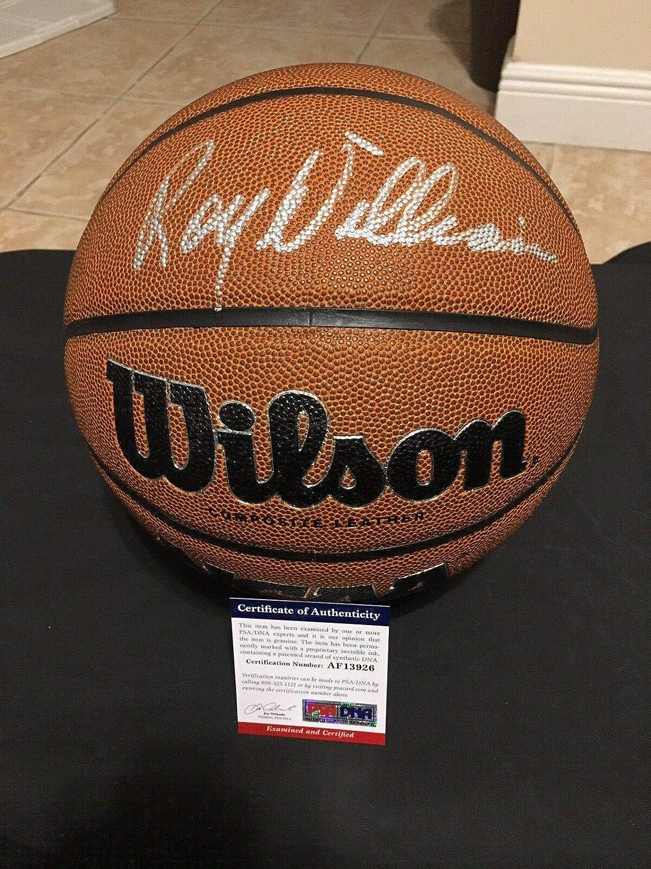 Roy Williams Signed Ncaa Basketball University Of North Carolina