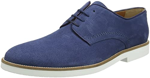 Mens Piped Paterson Suede Derby Shoes Hackett IdztgIn