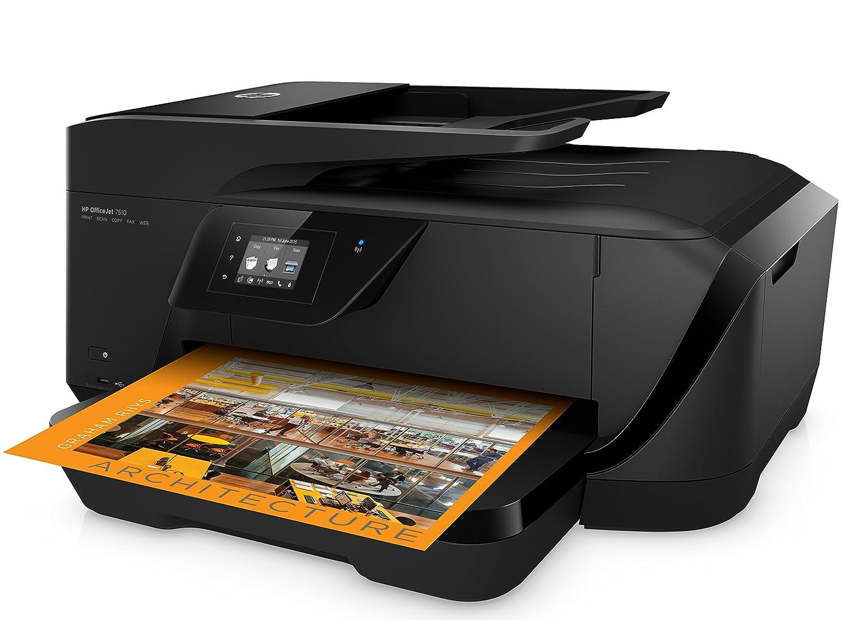 HP Officejet 7110 CR768A schwarz A3 Drucker 4800 x 1200 dpi, USB, WiFi, Ethernet, ePrint, Airprint, Cloud print
