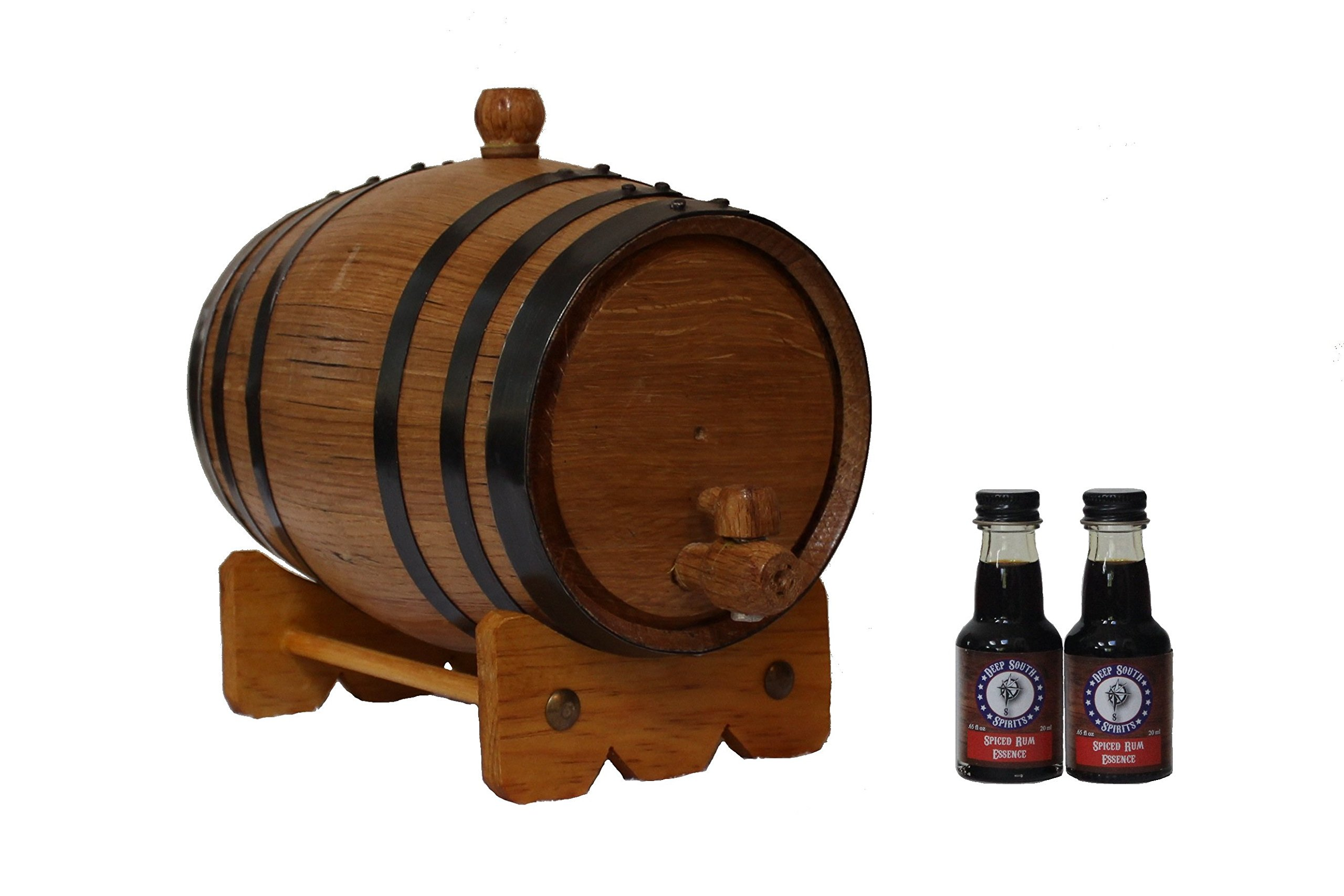 Deep South Barrels 2-Liter American White Oak Barrel Spiced Rum Kit