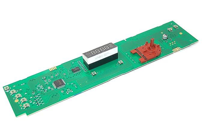 Indesit Lavadora consola PCB dígitos. Genuine número de pieza ...