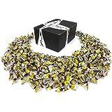 Adams & Brooks Coffee Rio Sugar Free Latté Hard Candy, 2 lb Bag in a BlackTie Box
