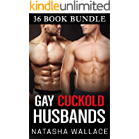 Gay Cuckold Husbands Bundle: 36 Story First Time Bisexual Threesome Erotica Box Set book cover