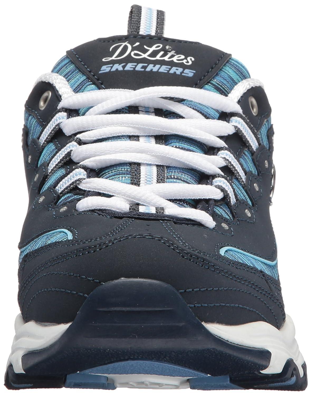 Skechers Women's DLites Interlude Sneaker B074HBWK3G 7 B(M) US|Navy Blue-50