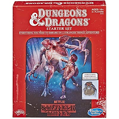 Hasbro Gaming Stranger Things Dungeons & Dragons Roleplaying Game Starter Set: Toys & Games