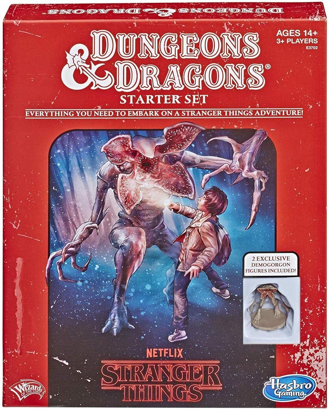 Hasbro Gaming Stranger Things Dungeons /& Dragons Roleplaying Game Starter Set