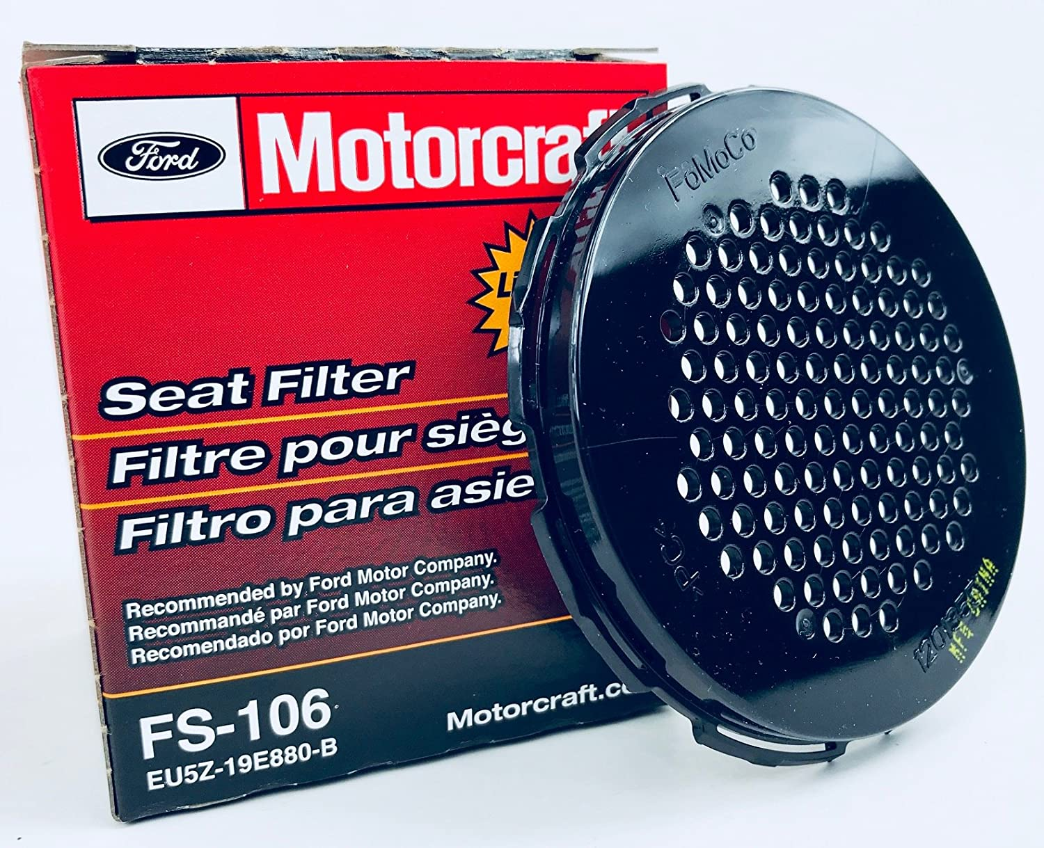 Motorcraft Fs 106 Seat Filter Automotive 2013 Ford Mustang 3 7 Fuel Location