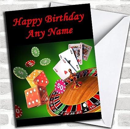 Casino Gambling personalizada Card- de felicitación ...