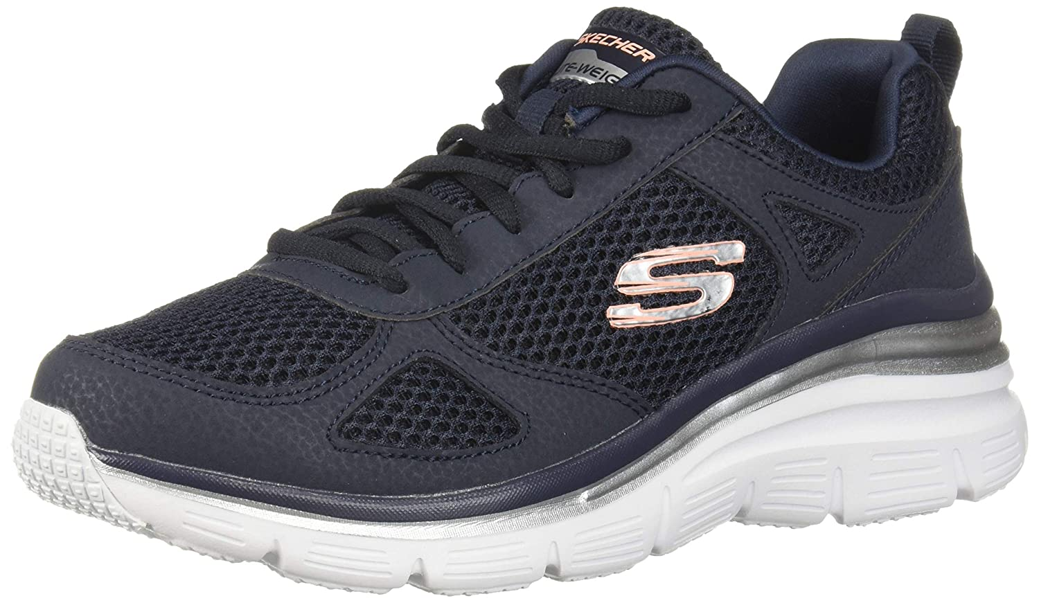 Nvy Skechers Women's Fashion FIT-Perfect Mate