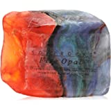 Fire Opal Soap Rock
