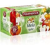 Pompadour Infusione per Bevande Calde, Mela - 20 Filtri