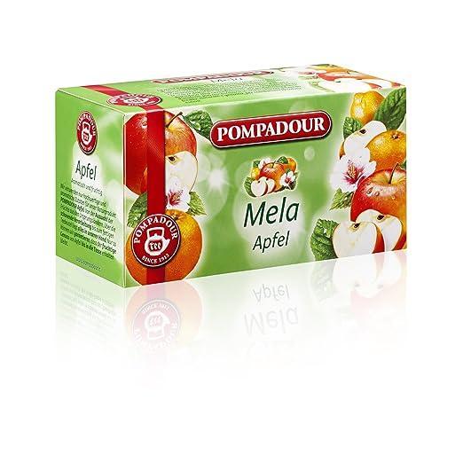 9 opinioni per Pompadour Infusione per Bevande Calde, Mela- 20 Filtri