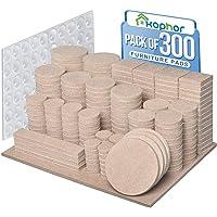 Meubelpads 300PCS zelfklevende meubels vilten pads voor meubels voeten vilt pads voor stoel benen anti kras - enorme…