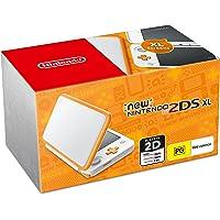 New Nintendo 2DS XL Console White Orange with Mario Kart 7 (Code)