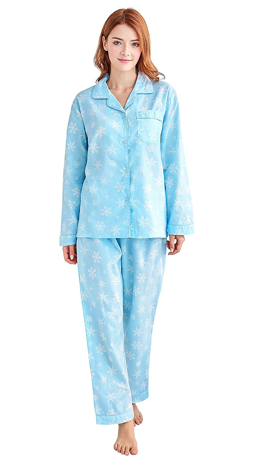 Women s 100% Cotton Pajamas ac98696fb
