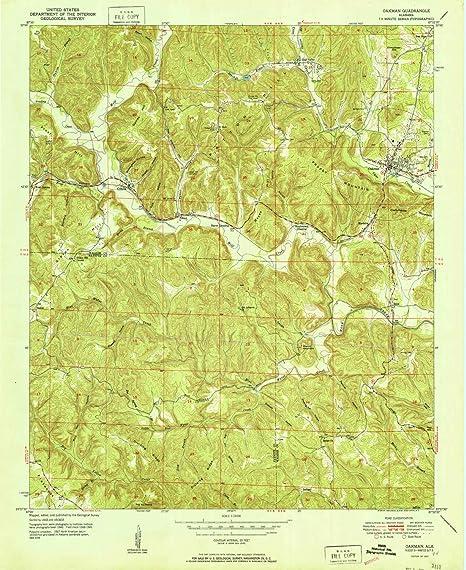 Amazon.com : YellowMaps Oakman AL topo map, 1:24000 Scale ... on map of sulligent alabama, map of greensboro alabama, map of vincent alabama, map of arley alabama, map of rainbow city alabama, map of wadley alabama, map of gardendale alabama, map of oneonta alabama, map of sylvania alabama, map of talladega alabama, map of hayneville alabama, map of red bay alabama, map of montevallo alabama, map of calera alabama, map of trafford alabama, map of united states alabama, map of fort payne alabama, map of haleyville alabama, map of st. clair county alabama, map of mount olive alabama,